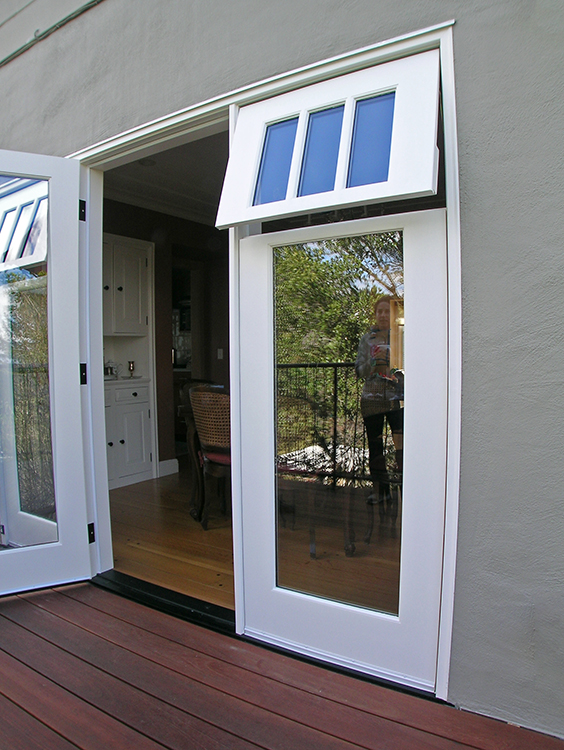Spotlight on sidelights jarvis architects for Sliding french doors with sidelights