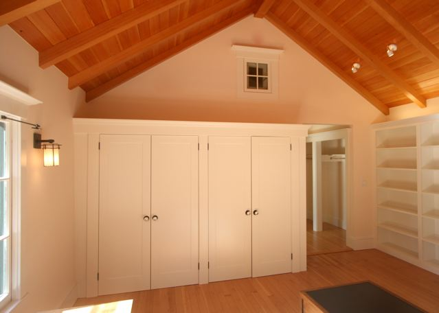 Master Bedroom Closet And Attic Window